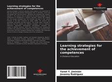 Обложка Learning strategies for the achievement of competences