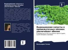 Portada del libro de Выращивание капусты в промежуточных посевах увеличивает обилие