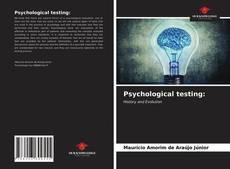 Обложка Psychological testing: