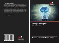 Bookcover of Test psicologici: