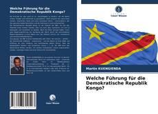 Welche Führung für die Demokratische Republik Kongo? kitap kapağı