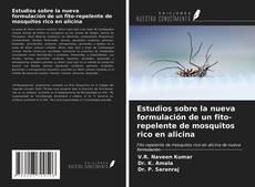 Portada del libro de Estudios sobre la nueva formulación de un fito-repelente de mosquitos rico en alicina