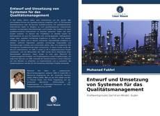 Copertina di Entwurf und Umsetzung von Systemen für das Qualitätsmanagement