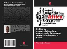 Capa do livro de Crítica ao desenvolvimento e proposta de Retomada como solução para a África
