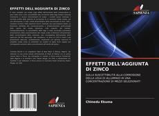 EFFETTI DELL'AGGIUNTA DI ZINCO kitap kapağı