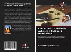 Couverture de Contenzioso di interesse pubblico e ONG per i diritti umani