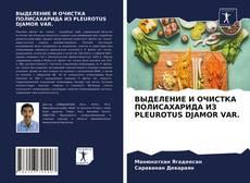 ВЫДЕЛЕНИЕ И ОЧИСТКА ПОЛИСАХАРИДА ИЗ PLEUROTUS DJAMOR VAR.的封面