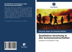 Couverture de Qualitative forschung in den humanwissenschaften