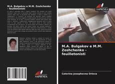 M.A. Bulgakov e M.M. Zoshchenko - feuilletonisti的封面