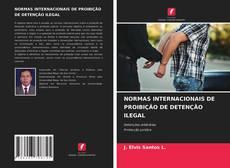 Capa do livro de NORMAS INTERNACIONAIS DE PROIBIÇÃO DE DETENÇÃO ILEGAL