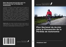 Portada del libro de Plan Nacional de Acción para la Prevención de la Pérdida de Autonomía