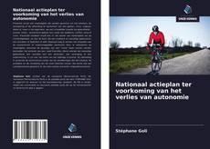 Copertina di Nationaal actieplan ter voorkoming van het verlies van autonomie