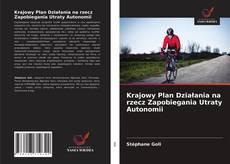 Copertina di Krajowy Plan Działania na rzecz Zapobiegania Utraty Autonomii