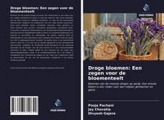 Bookcover of Droge bloemen: Een zegen voor de bloementeelt