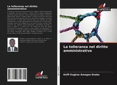 Capa do livro de La tolleranza nel diritto amministrativo