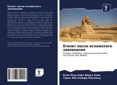 Bookcover of Египет после исламского завоевания