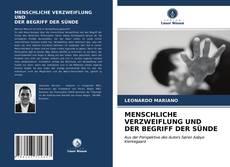 Bookcover of MENSCHLICHE VERZWEIFLUNG UND DER BEGRIFF DER SÜNDE