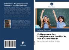 Borítókép a  Präferenzen des korrigierenden Feedbacks von ESL-Studenten - hoz