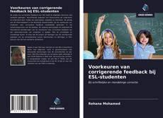 Borítókép a  Voorkeuren van corrigerende feedback bij ESL-studenten - hoz