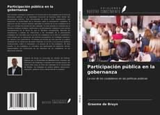 Copertina di Participación pública en la gobernanza