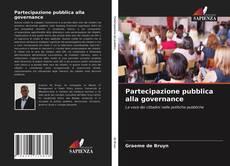 Partecipazione pubblica alla governance kitap kapağı