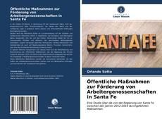 Buchcover von Öffentliche Maßnahmen zur Förderung von Arbeitergenossenschaften in Santa Fe