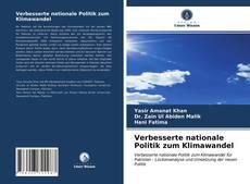 Buchcover von Verbesserte nationale Politik zum Klimawandel