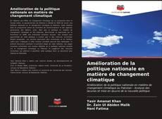 Portada del libro de Amélioration de la politique nationale en matière de changement climatique