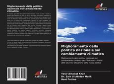 Buchcover von Miglioramento della politica nazionale sul cambiamento climatico