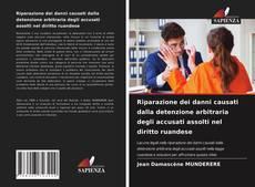 Copertina di Riparazione dei danni causati dalla detenzione arbitraria degli accusati assolti nel diritto ruandese