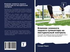 Buchcover von Влияние элемента заднего супинатора на постуральный контроль