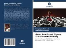Bookcover of Gram Panchayat Eigene Einnahmeverwaltung