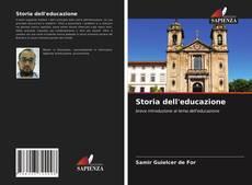 Bookcover of Storia dell'educazione