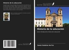 Buchcover von Historia de la educación