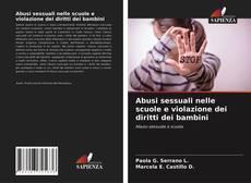 Portada del libro de Abusi sessuali nelle scuole e violazione dei diritti dei bambini
