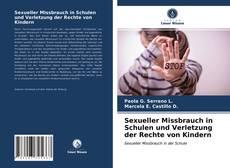 Capa do livro de Sexueller Missbrauch in Schulen und Verletzung der Rechte von Kindern