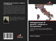 Обложка Atteggiamenti di genere, religione e occupazione