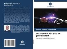 Capa do livro de Makroethik für das 21. Jahrhundert