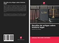 Couverture de Recolha de artigos sobre história legal