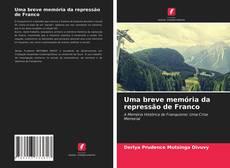 Buchcover von Uma breve memória da repressão de Franco