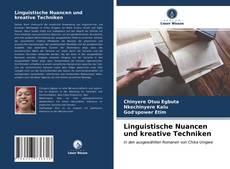 Linguistische Nuancen und kreative Techniken kitap kapağı