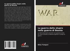Capa do livro de La guerra dello stupro nella guerra di Bosnia