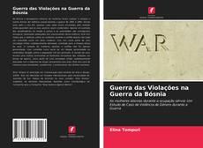 Capa do livro de Guerra das Violações na Guerra da Bósnia