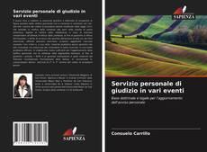 Capa do livro de Servizio personale di giudizio in vari eventi