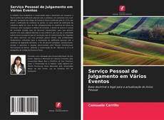 Serviço Pessoal de Julgamento em Vários Eventos kitap kapağı