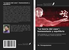 """Buchcover von """"La teoría del caos"""": homeostasis y equilibrio"""