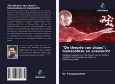 """Bookcover of """"De theorie van chaos"""": homeostase en evenwicht"""