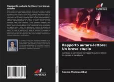 Bookcover of Rapporto autore-lettore: Un breve studio