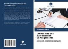 Capa do livro de Grundsätze des europäischen Vertragsrechts