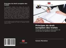 Обложка Principes du droit européen des traités